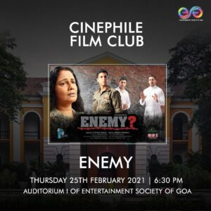 'ENEMY' Special Screening for Cinephile Members